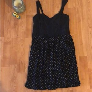 New! Navy Anthropologie Dress